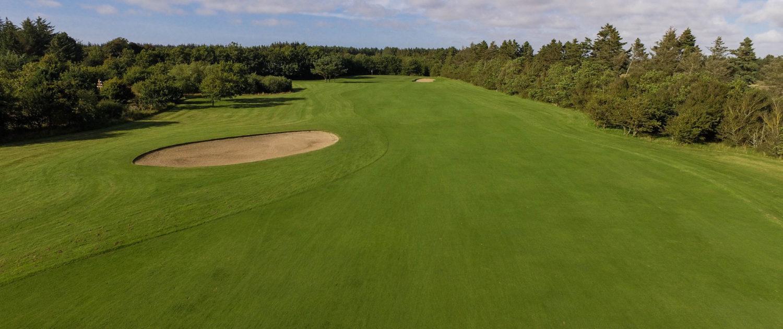 Golfbanen i Blokhus